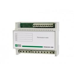 Thermostat Modulaire 4 Zones pour Plancher ou Plafond Rayonnant DeltaDore Minor 500