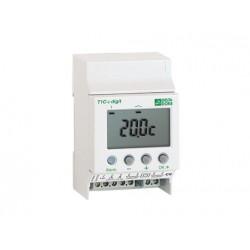 Thermostat Modulaire Tout ou Rien a 1 Sortie, 1 Consigne DeltaDore T1C-2 DIGIT