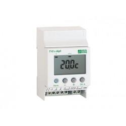 Thermostat Modulaire Tout ou Rien a 2 Sorties, 2 Consignes DeltaDore T2S+2C DIGIT