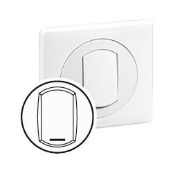 Enjoliveur avec Porte Etiquette- IP 44 - pour Réf. 670 01/31 - Blanc Legrand