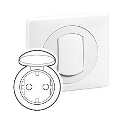 Enjoliveur CELIANE - IP 44 - pour Réf. 671 53 - Blanc Legrand