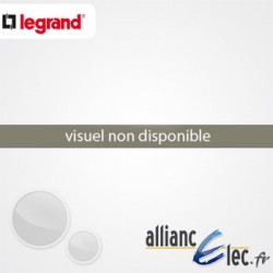 Platine Perforée Hauteur 150 mm pour Coffret XL³ 125 18 Modules Hauteur 150 mm Legrand