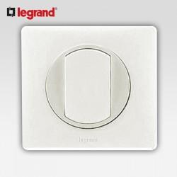 Va et vient porte etiquette Legrand celiane blanc complet