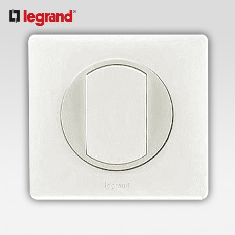 Permutateur Legrand celiane blanc complet avec support