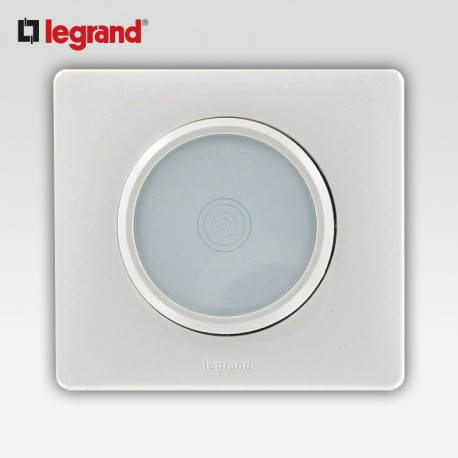 Commande tactile 400w Legrand celiane blanc complet