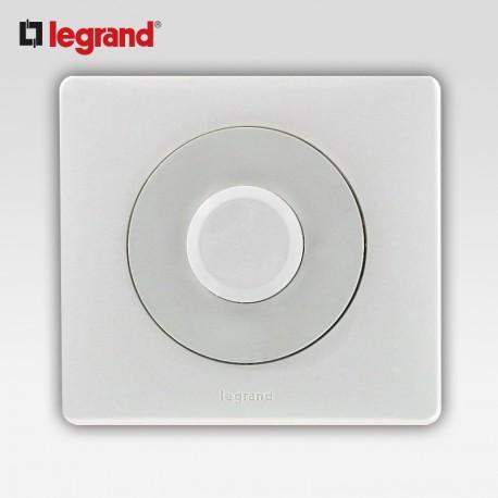 Poussoir inverseur a type push Legrand celiane blanc complet