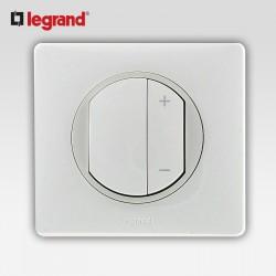Interrupteur variateur 400w Legrand celiane blanc complet