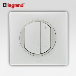 Interrupteur variateur 600w Legrand celiane blanc complet
