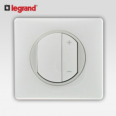 legrand celiane interrupteur variateur 600w blanc complet support. Black Bedroom Furniture Sets. Home Design Ideas