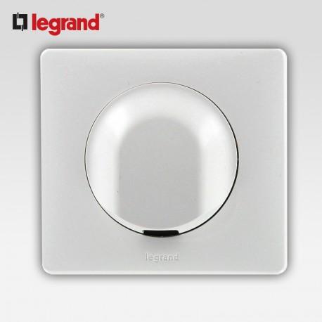 Sortie de cable Legrand celiane blanc complet avec support