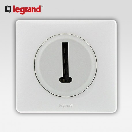 legrand celiane prise telephone 8 contacts blanc complet support. Black Bedroom Furniture Sets. Home Design Ideas
