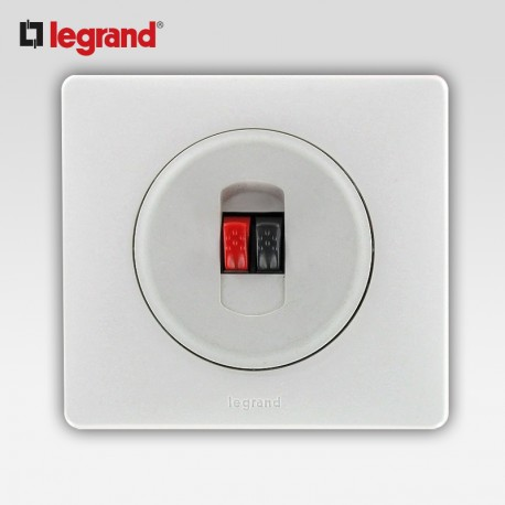 Prise hp simple Legrand celiane blanc complet avec support