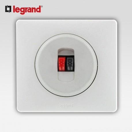 Prise hp simple Legrand celiane blanc complet avec support