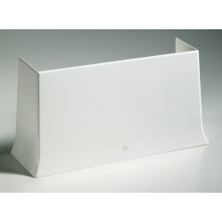 Cornet d'épanouissement Bas Goulotte GTL Blanc Pour Tableau Modulaire Iboco