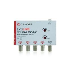 Solution COAX BD104 Cahors SAT + TNT sur COAX