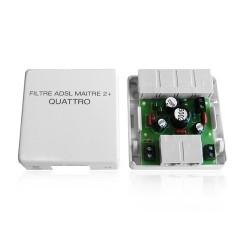 Filtre ADSL Maitre 4 Sorties RJ45 + Modem RJ45 Cahors