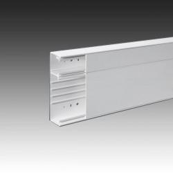 Goulotte GTL Technique Logement 2X 1.30 ML 2Compart, 2 Couvercle Blanc Pour Tableau Modulaire Iboco