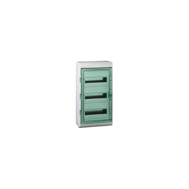 coffret electrique etanche kaedra schneider 3 rangees 36. Black Bedroom Furniture Sets. Home Design Ideas