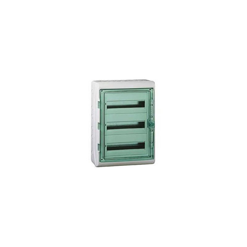 coffret electrique etanche kaedra schneider 3 rangees 54. Black Bedroom Furniture Sets. Home Design Ideas
