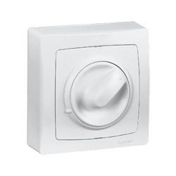 Interrupteur Variateur à Bouton rotatif Saillie Legrand Oteo Blanc Complet