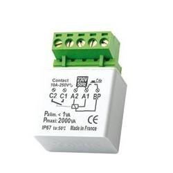 CVR12 Convertisseur pour Centralisation des MTR2000 Avec Contact Permanent Domotique Yokis