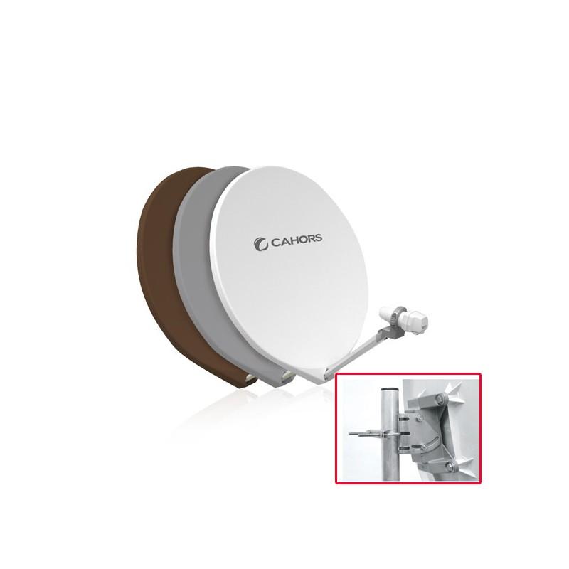 parabole fibre cahors smc cp 65 cm blanche monture composite 0140907. Black Bedroom Furniture Sets. Home Design Ideas