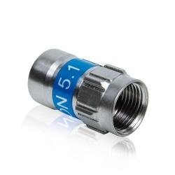 Connecteur à compression IEC Femelle CABELCON Cahors