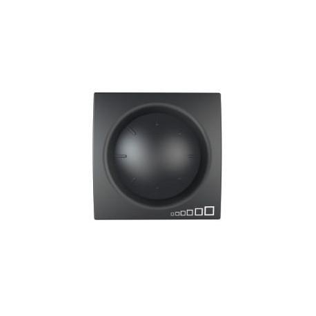 variateur rotatif va et vient 40 400 w 2 modules graphite. Black Bedroom Furniture Sets. Home Design Ideas