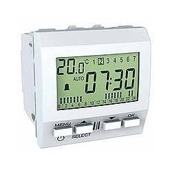 Réveil 230 VCA 2 Modules - Blanc Schneider Unica