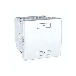 Commande Volets-Roulants Poussoirs 2 ou 4 Boutons Sans Fil (RF) - Blanc Schneider Unica