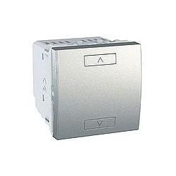 Commande Volets-Roulants Poussoirs 2 ou 4 Boutons Sans Fil (RF) - Aluminium Schneider Unica