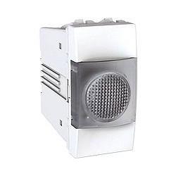 Voyant Lumineux incolore 220 VCA 1 Module - Blanc Schneider Unica