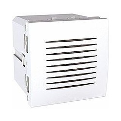 Sonnette 5 tonalités 2 Modules - Blanc Schneider Unica