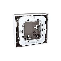 Boite pour Montage en Saillie 1 Poste 2 Modules - Blanc Schneider Unica