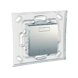 Emetteur RF à Pile 2 ou 4 boutons - Aluminium Schneider Unica