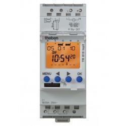 Horloge Programmable Digitale avec Programme Hebdomadaire TR 610 top2 G Theben