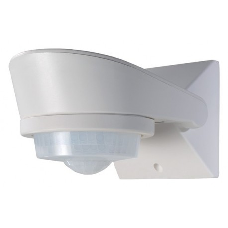 detecteur de mouvement mural orientable blanc 360 luxa 101 360. Black Bedroom Furniture Sets. Home Design Ideas