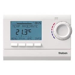 Thermostat d'Ambiance montage mural ou boîtier encastré à Piles RAMSES 811 top 2 Theben