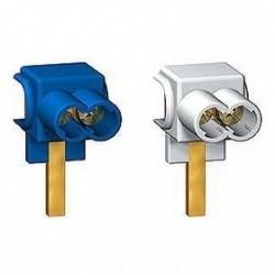 Connecteurs Schneider 25 mm2 (2 bleu + 2 gris)