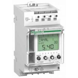 Interrupteur horaire programmable Schneider IHP'clic 1c, 1 canal