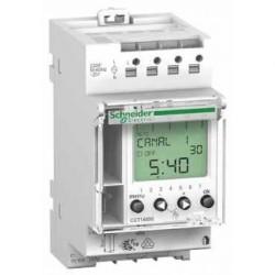 Interrupteur horaire programmable Schneider IHP'clic 2c, 2 canaux