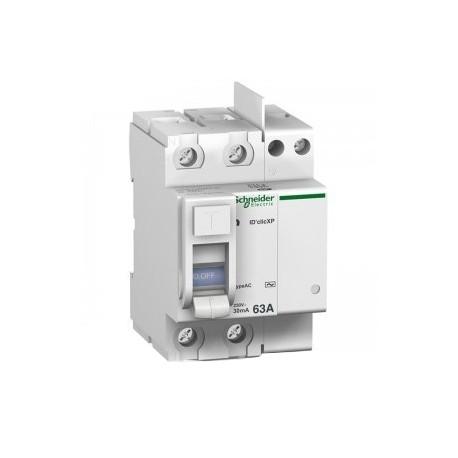 Interrupteur differentiel 63a id clic ac Schneider Merlin Gerin