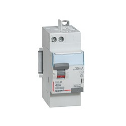 Interrupteur différentiel automatique 25A Legrand ID DX 3 type A Sans Vis 2P 30mA