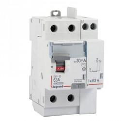 Interrupteur différentiel automatique 63A Legrand ID DX 3 type A Sans Vis 2P 30mA