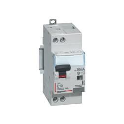Disjoncteur Différentiel Legrand 10A Type AC 30mA 6kA Courbe C DX3 4500 - vis/vis - Uni+N 230V~ - 2 Modules