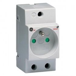 Prise de courant modulaire General Electric 2P+T 16A 250V