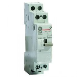 Contacteur Relais Modulaire Electromécanique General Electric 1F 16A Bobine 230VCA