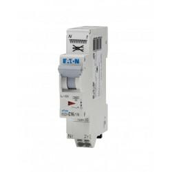 Disjoncteur Moeller 16 A Xpole clip - Sans vis - Eaton - courbe C