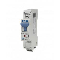 Disjoncteur Moeller 20 A Xpole clip - Sans vis - Eaton - courbe C