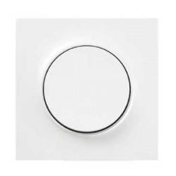 Plaque Blanc Brillant 1 Poste Schneider Odace Styl